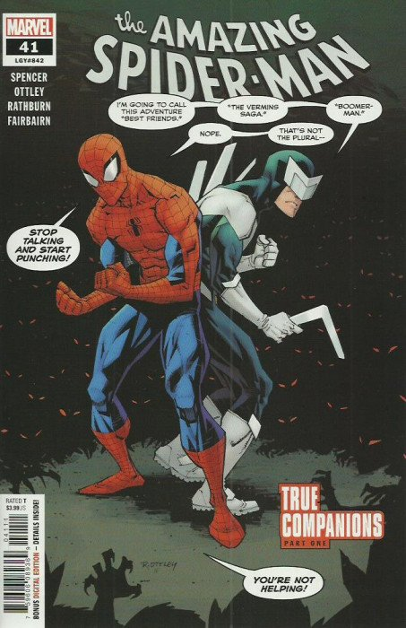 Amazing Spider-Man, The (5th Series) comic issue 41